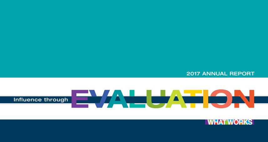 Ieg Annual Report 2017 Influence Through Evaluation