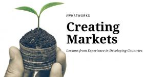 Creating Markets