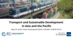 Transport and Sustainable Development in Asia and the Pacific