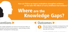 INFOGRAPHIC: Early Childhood Interventions - Where are the Knowledge Gaps?