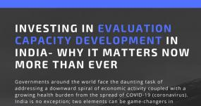 Investing in Evaluation Capacity Development in India: Why it Matters Now More than Ever