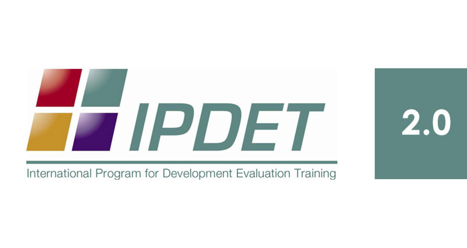 ipdet, ieg ipdet, international program for development evaluation training