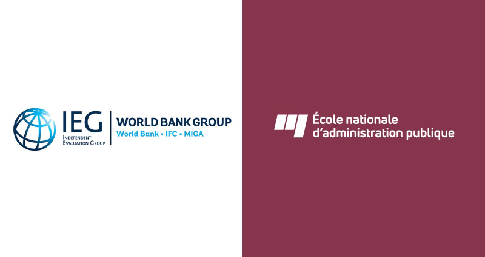 Independent Evaluation Group and École nationale d'administration publique formalize collaboration towards building a new global partnership