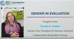 The Case for Mainstreaming Gender in Evaluation