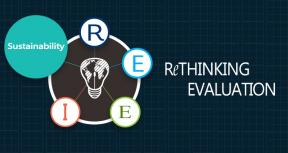 Rethinking Evaluation - Sustaining a Focus on Sustainability