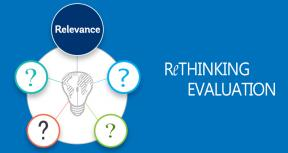 Rethinking Evaluation— Is Relevance Still Relevant?