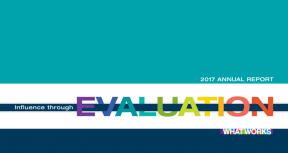 IEG Annual Report 2017: Influence through Evaluation