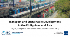 Transport and Sustainable Development in the Philippines and Asia