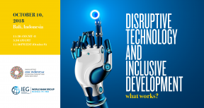 Disruptive Technology and Inclusive Development