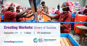 Creating Markets: Drivers of Success