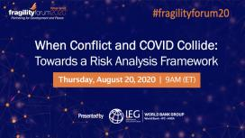 When Conflict and COVID Collide: Towards a Risk Analysis Framework