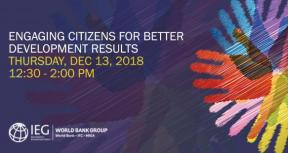 Engaging Citizens for Better Development Results