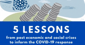 5 Lessons from Economic and Social Crises to Inform the COVID-19 Response