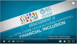 financial inclusion video