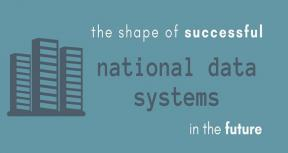 The Shape of Successful National Data Systems in the Future