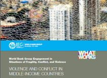 Violence and Conflict in Middle Income Countries